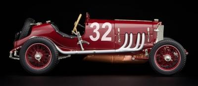 M-203 Mercedes-Benz Targa Florio -with external gasoline line-, 1924, red #32