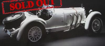 M-190 Mercedes-Benz SSK, white 1930