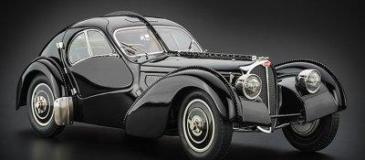 CMC Bugatti Type 57 SC Atlantic 1938 black