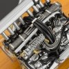 CMC Mercedes-Benz 300 SLR Engine with Showcase