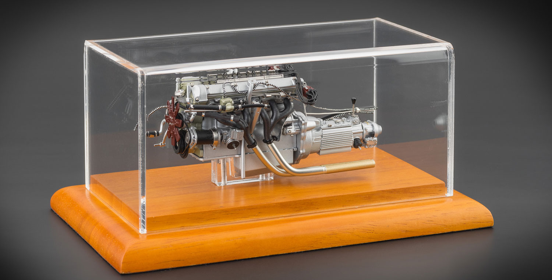 M-133 Aston Martin DB4 GT, 1961 Engine with Showcase