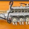 CMC Aston Martin DB4 GT 1961 Engine with Showcase