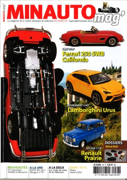 M-091 - M-094 CMC Ferrari 250 GT SWB California - CMC Modelcars