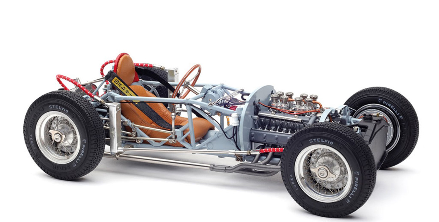 M-198_CMC_Lancia_D50_1955_Rolling_Chassis