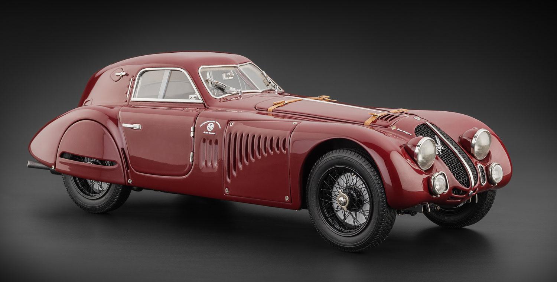 CMC Alfa Romeo C B Speciale Touring Coupè CMC Modelcars - Alfa romeo model cars