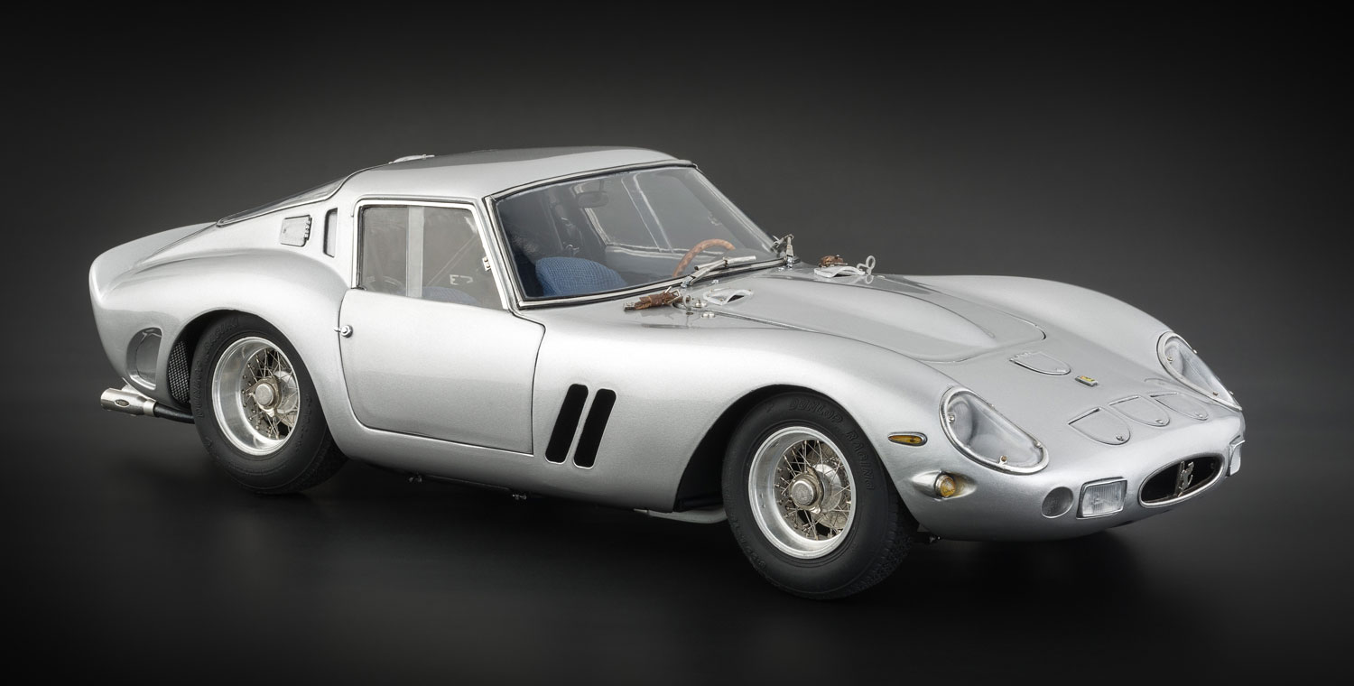 Cmc Ferrari 250 Gto 1962 Silver Currently Not Available Cmc Modelcars