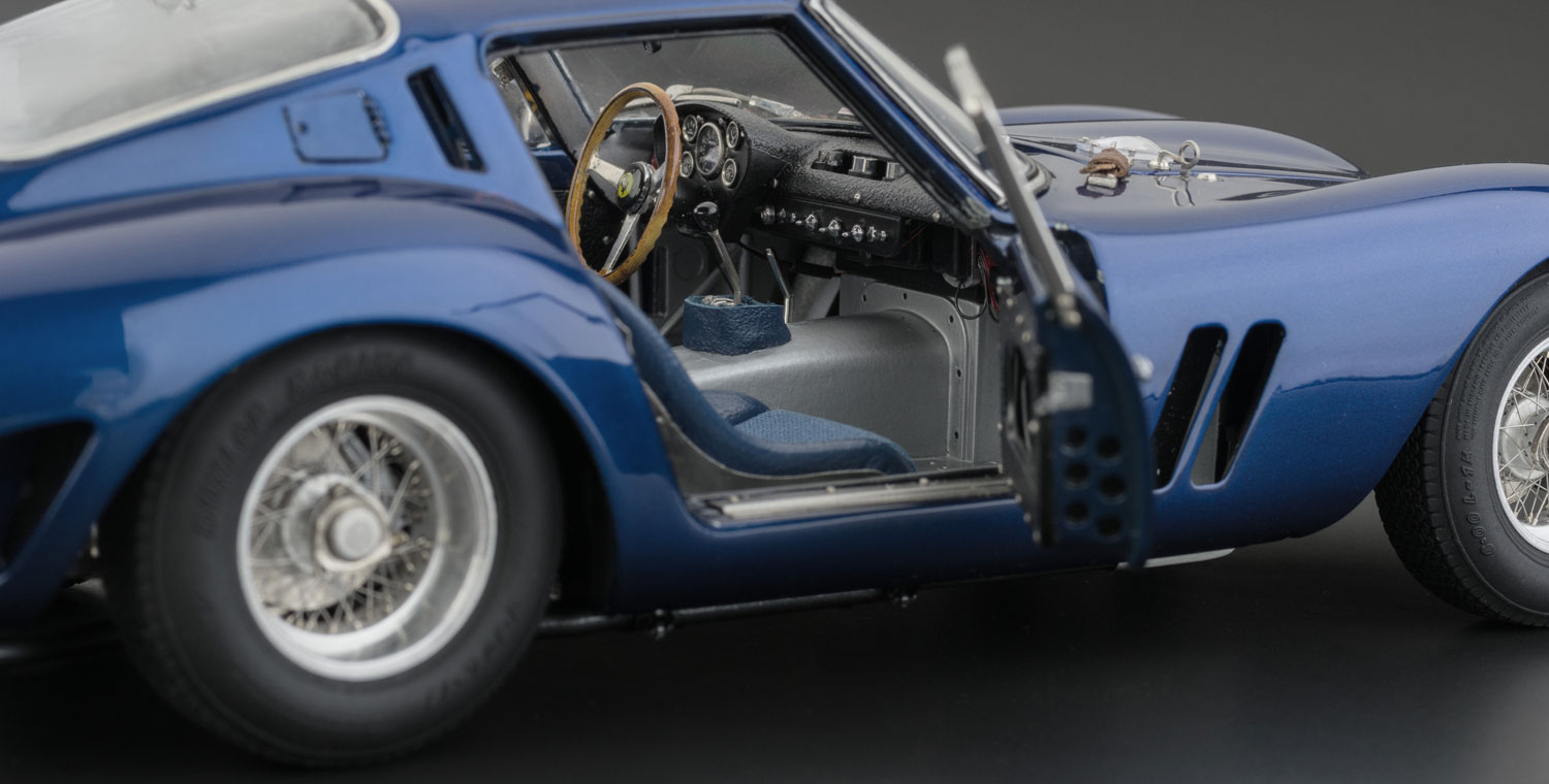Cmc Ferrari 250 Gto 1962 Blue Currently Not Available Cmc Modelcars
