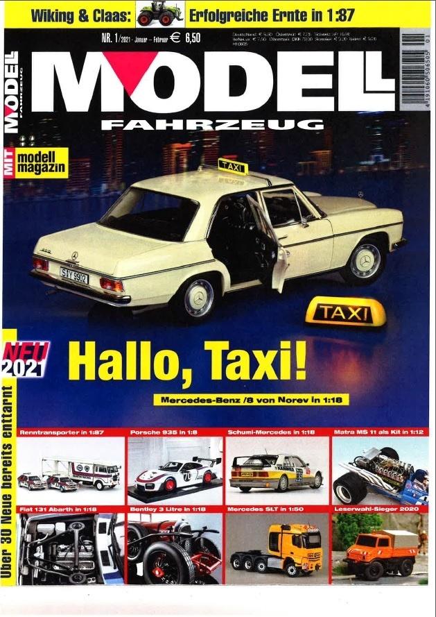 M 205 Modellfahrzeug 01 2021 Cover