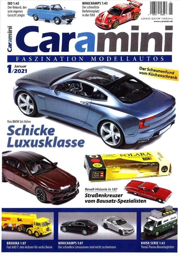 M 216 Caramini 1 2021 Cover