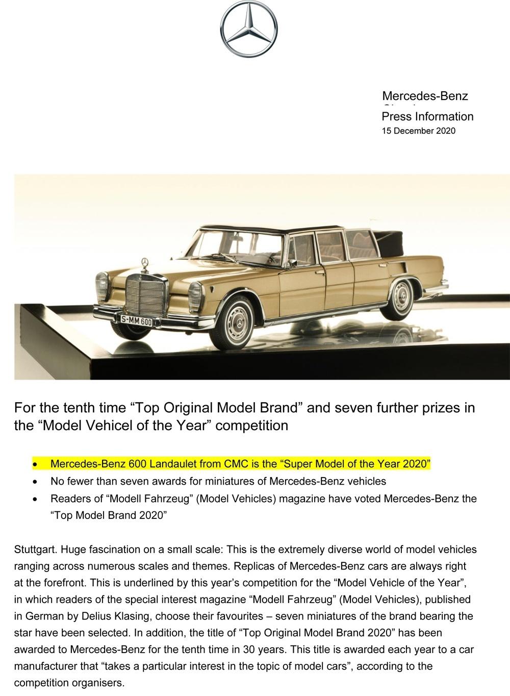 Mercedes Benz Presse Information 15.12.2020 En