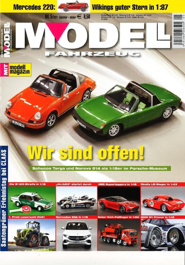 M 207 Modellfahrzeug 5 21 Cover